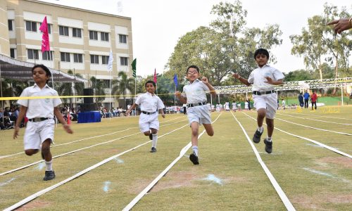 Running Competition for students